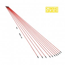 10 x 1m Cable Guide Rod Set
