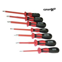 7 Piece 1000V GripX² Screwdriver Set