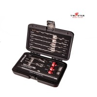 16 Piece Twister Drilling Set