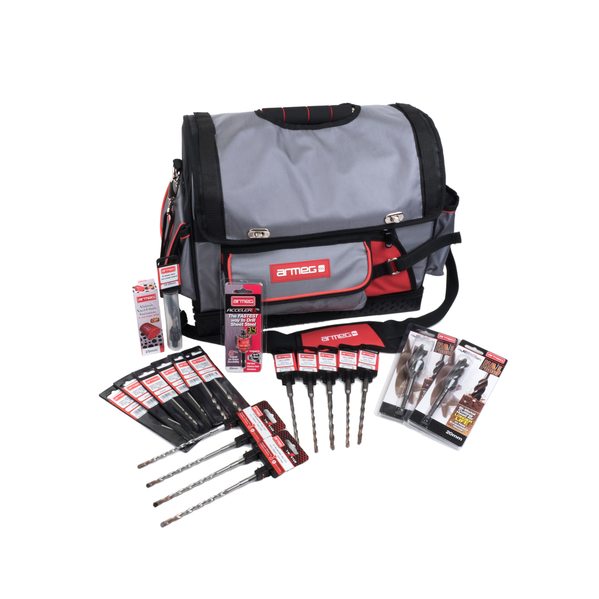 20 Piece Premium Drilling Kit