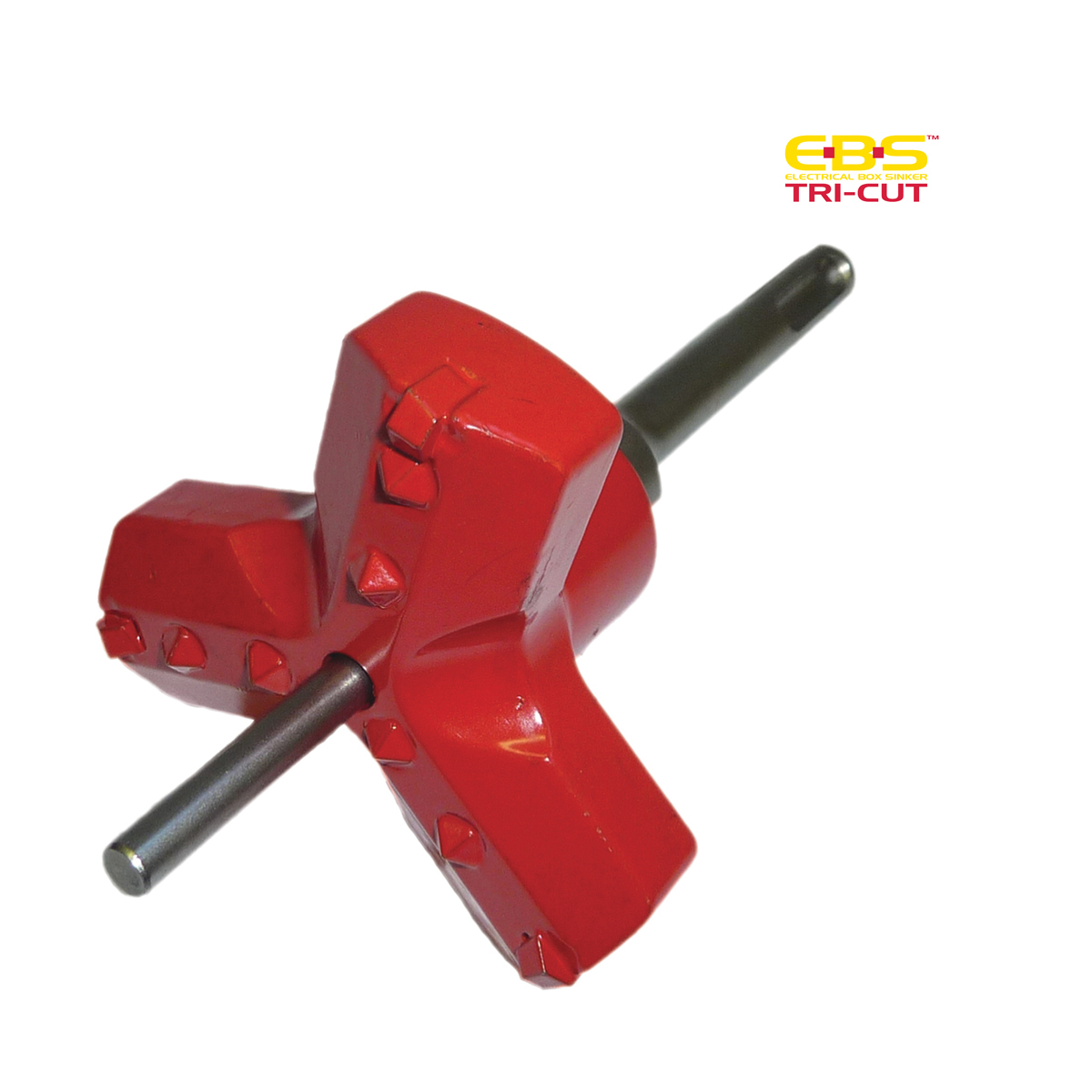 Tri-Cut Round Cutter c/w SDS Plus Drive Adaptor