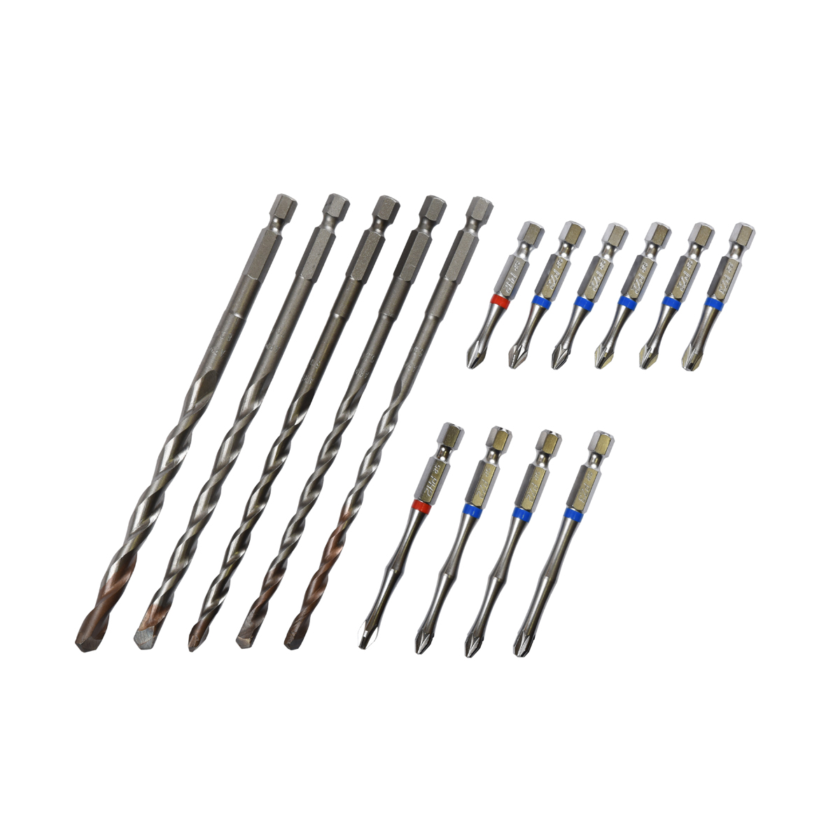 15 Piece Masonry Fixing Installation Set