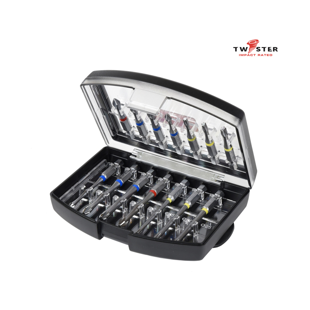 14 Piece Impact Rated Screwdriver Set