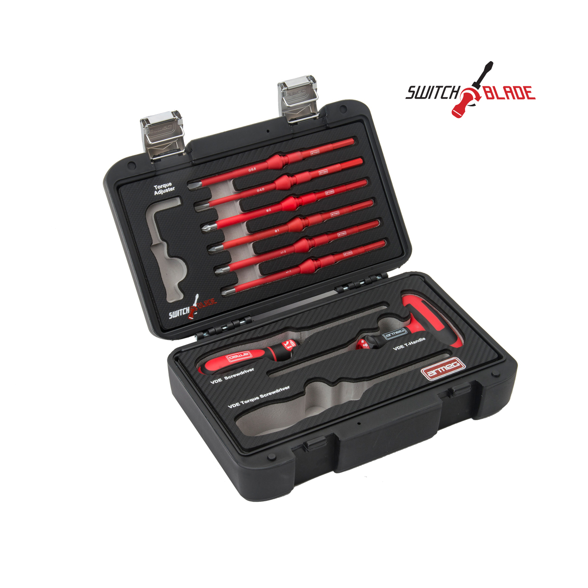 8 Piece VDE Handle & Blade Set